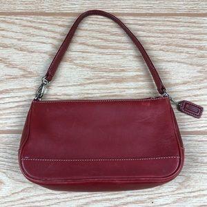 COACH Red Mini Bag Clutch J2S-7785